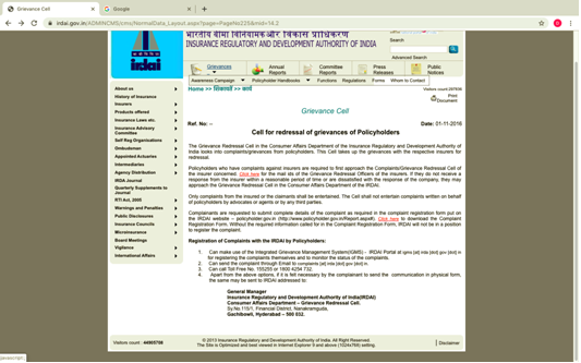 Insurance Regulatory Authority of India