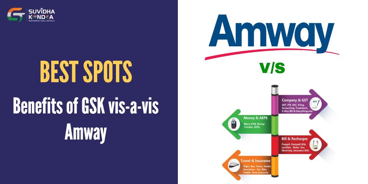Benefits of GSK vis-a-vis Amway