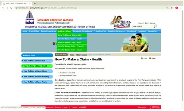 Consumer Education Website
