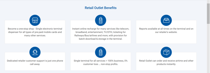 Retail Outlet Benefits