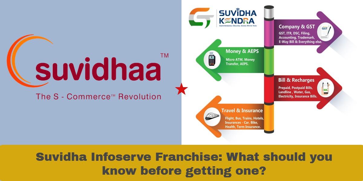 Suvidha Infoserve Franchise vs GST Suvidha Kendra