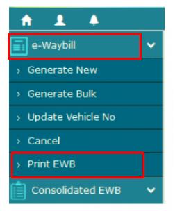 e-WayBill Print